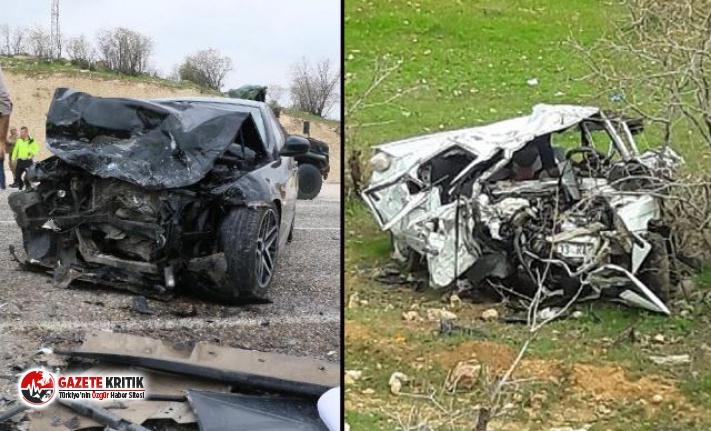 Diyarbakır'da otomobiller çarpıştı: 5 ölü,...