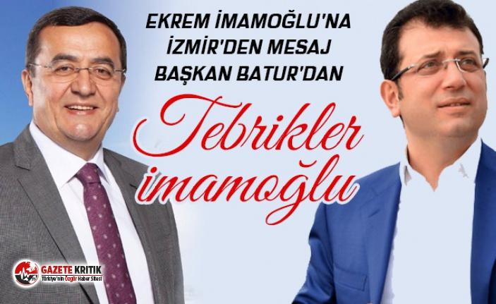 Ekrem İmamoğlu'na İzmir'den ilk tebrik...
