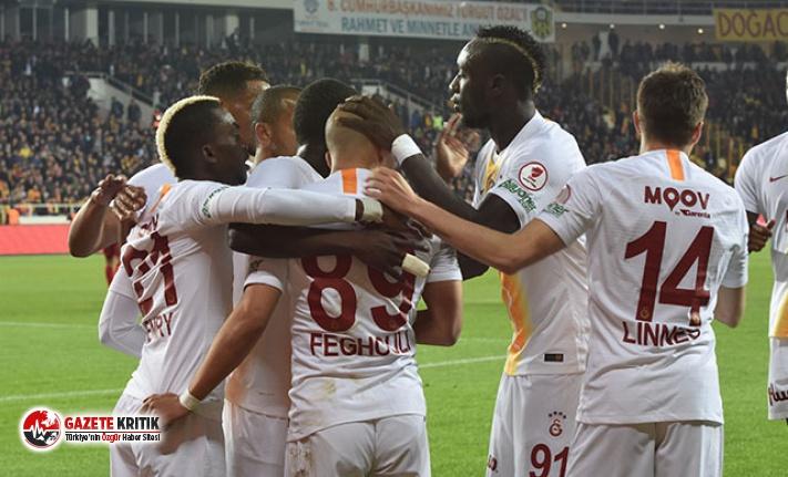 Evkur Yeni Malatyaspor - Galatasaray: 2-5