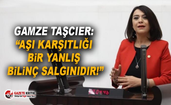 """GAMZE TAŞCIER: """"AŞI KARŞITLIĞI BİR YANLIŞ..."""