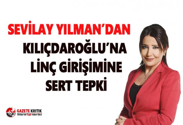 Gazeteci Sevilay Yılman, Kılıçdaroğlu'na saldırıya tepki ve Madımak hatırlatması
