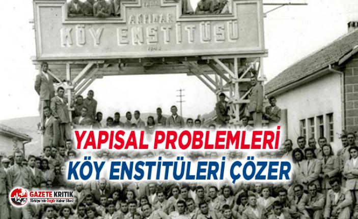 """Gürer: """"Köy Enstitüleri kapanmasaydı tarımda..."""