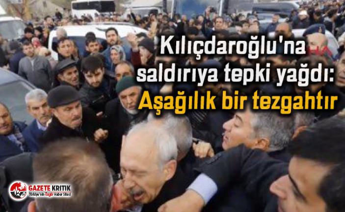 Kılıçdaroğlu'na saldırıya tepki yağdı: Aşağılık bir tezgahtır