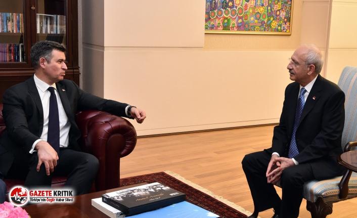 Metin Feyzioğlu'ndan Kılıçdaroğlu'na ziyaret!