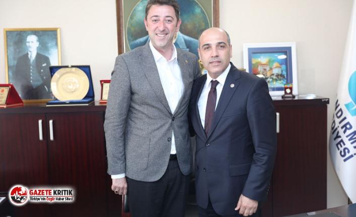 MİLLETVEKİLİ FİKRET ŞAHİN'DEN BAŞKAN TOSUN'A...
