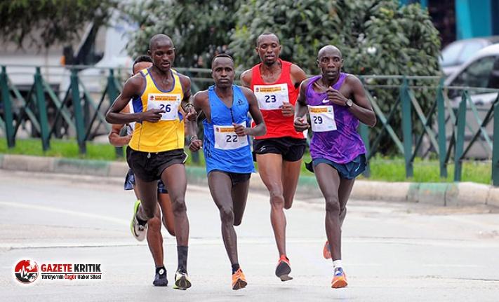 Osmangazi Yarı Maratonu'na Kenyalılar damga...