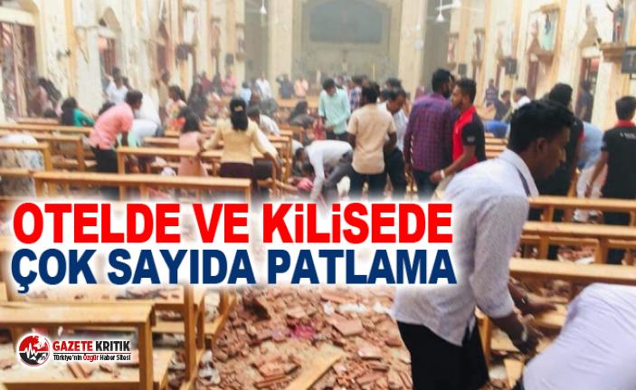 Otelde ve kilisede çok sayıda patlama