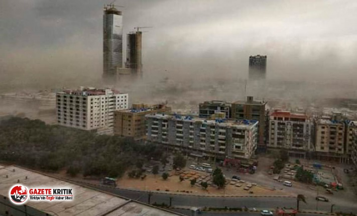 Pakistan'da şiddetli fırtına: 3 ölü, 20...