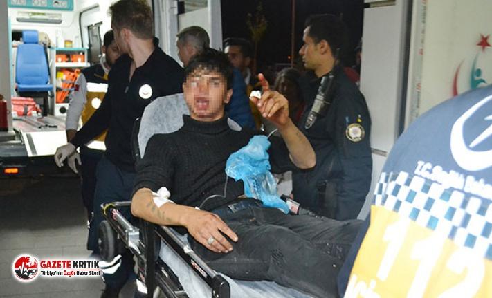 Silahlı saldırıda yaralanan genç gazetecilere,...