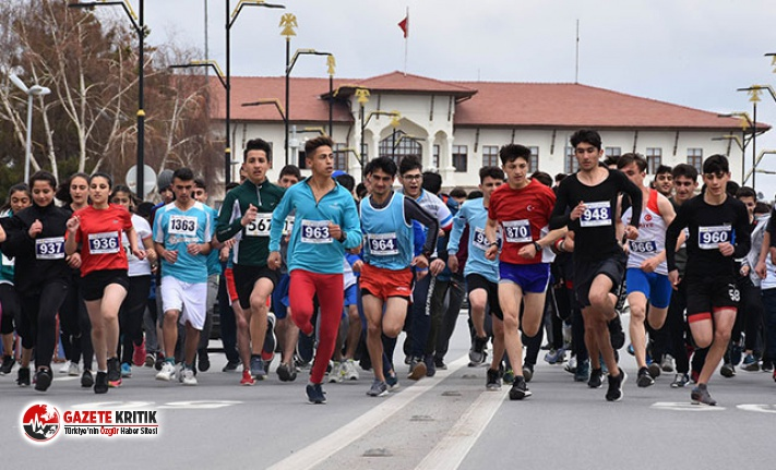 Sivas'ta Atletizm Yol Koşusu düzenlendi