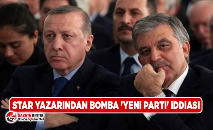 Star yazarından bomba 'yeni parti' iddiası