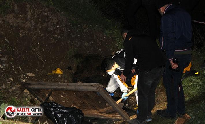 Tokat'ta, çay kenarında yanmış insan kemikleri bulundu