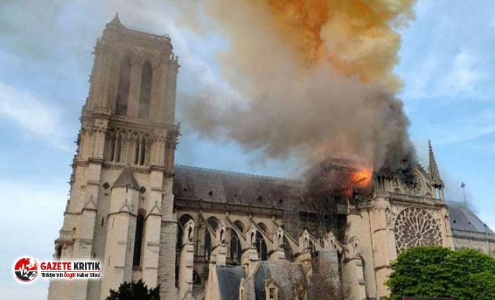 Türkiye'den Notre Dame Katedrali mesajı