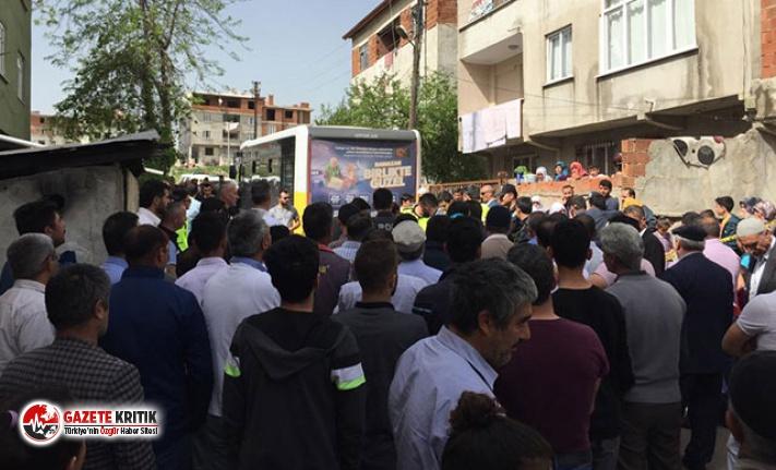 3 yaşındaki Yasin'i halk otobüsü ezdi