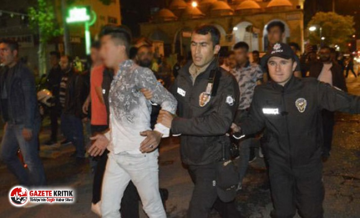 Adıyaman'da iki grup arasında kavga: 4 gözaltı