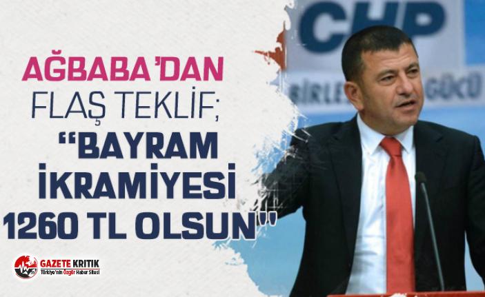 """AĞBABA'DAN FLAŞ TEKLİF: """"BAYRAM İKRAMİYESİ..."""