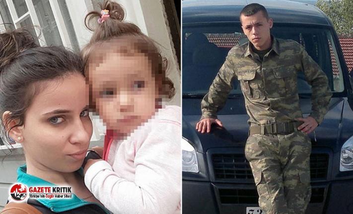 Annesi babası tarafından öldürülen minik kıza,...