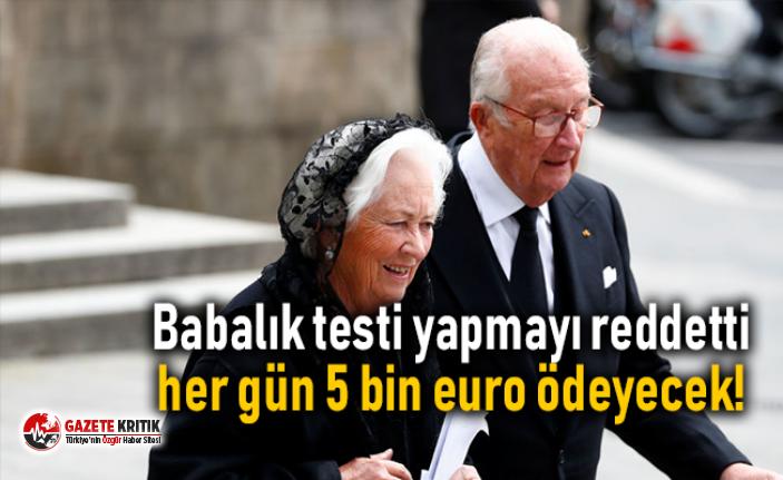 Babalık testi yapmayı reddeden eski Belçika Kralı...