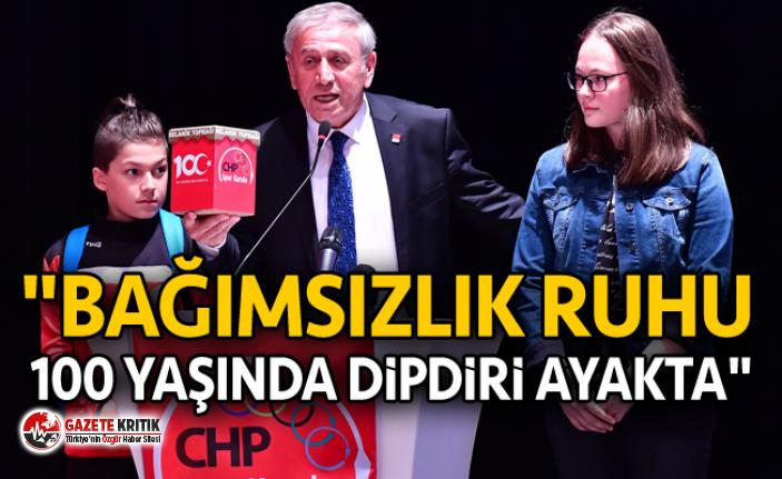 """""""BAĞIMSIZLIK RUHU 100 YAŞINDA DİPDİRİ AYAKTA"""""""