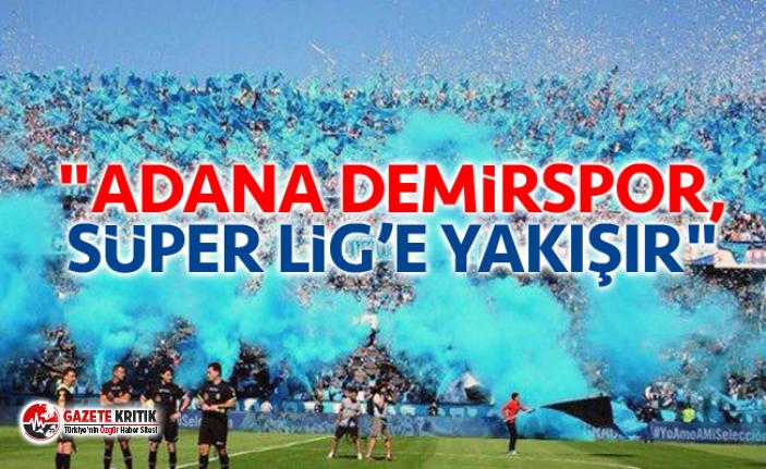 CHP Adana Milletvekili Dr. Müzeyyen Şevkin, Adana Demirspor'a Süper Lig yolunda başarılar diledi