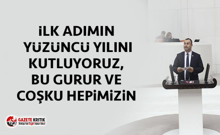 CHP İzmir Milletvekili Ednan Arslan 19 Mayıs Mesajı