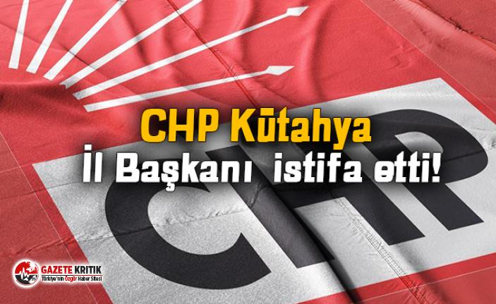 CHP Kütahya İl Başkanı Sarı istifa etti