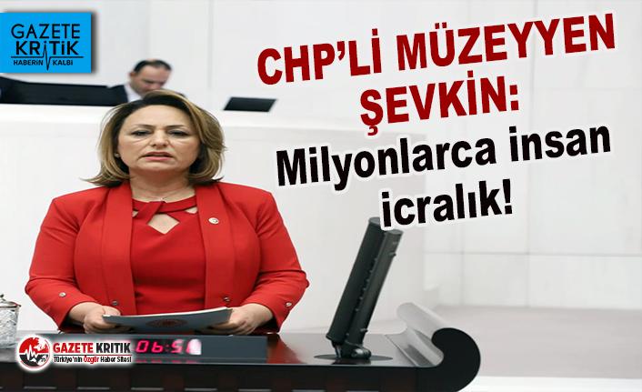 CHP'li Müzeyyen Şevkin, İcra dosyaları meclis gündemine taşıdı