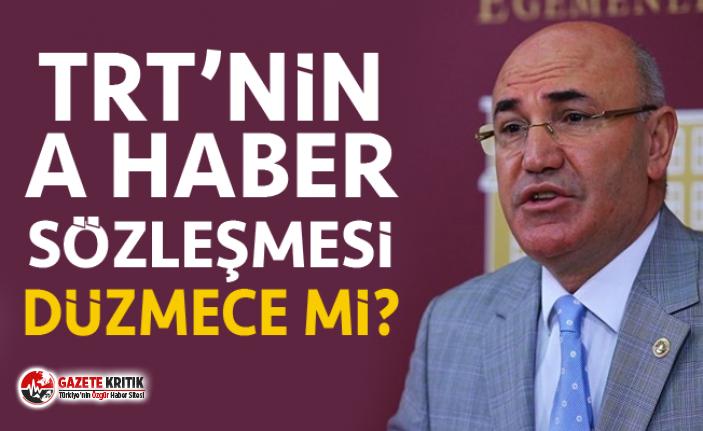 CHP'Lİ TANAL TRT'NİN A HABER KIYAĞININ PEŞİNİ...