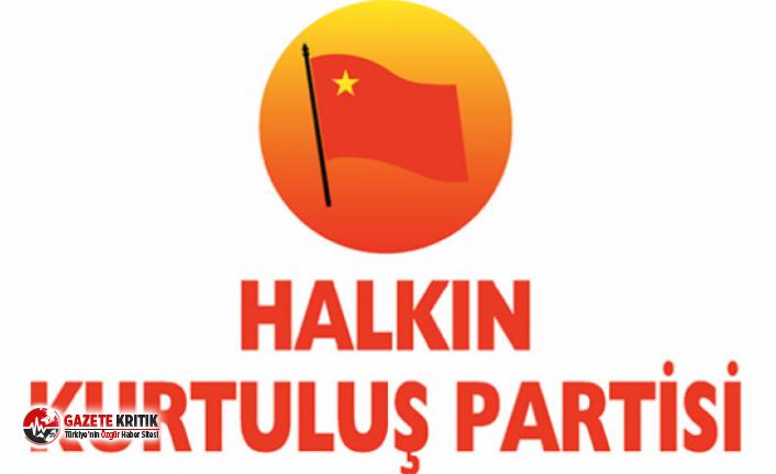 Halkın Kurtuluş Partisi'den Ekrem İmamoğlu'na...