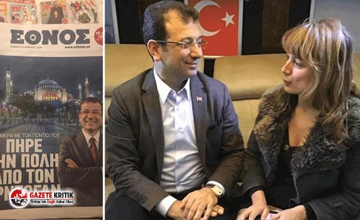 İmamoğlu için 'Pontuslu' başlığını atan Yunan gazeteci: Pontus, Karadeniz demek!