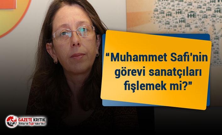 İstanbul Milletvekili Oya Ersoy: Muhammet Safi'nin...