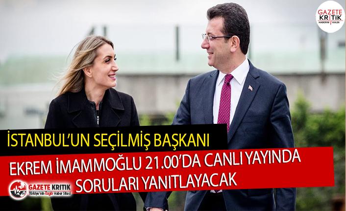 İstanbul'un seçilmiş başkanı Ekrem İmamoğlu...