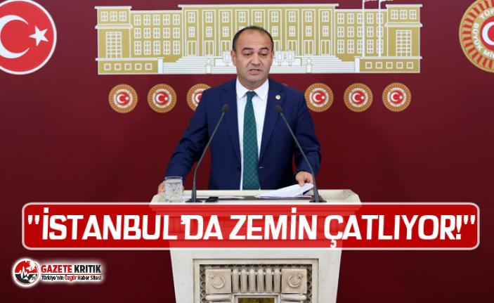 """""""İSTANBUL'DA ZEMİN ÇATLIYOR!"""""""
