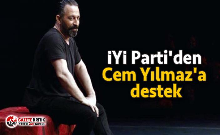 İYİ Parti'den Cem Yılmaz'a destek