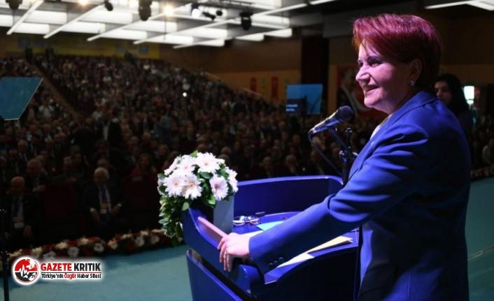 İYİ Parti tüzük kurultayı toplandı, Akşener YSK'yı eleştirdi: Gerekçeli karar değil, darbe bildirisi