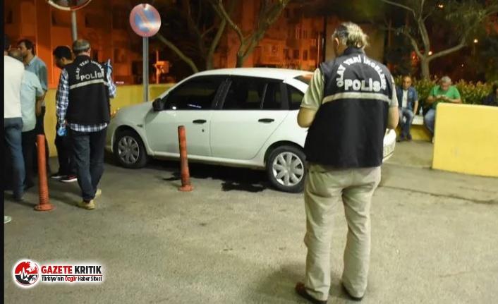 İzmir'de otomobile ateş açıldı: Baba-oğul yaralı