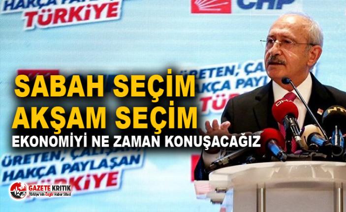 Kılıçdaroğlu: Bundan sonraki rakibimiz YSK'dır