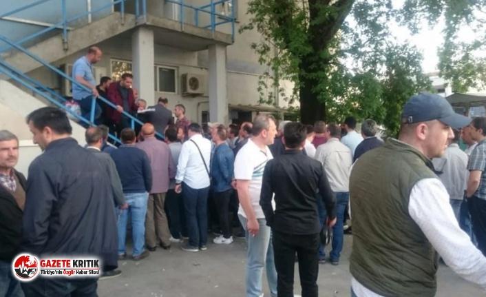 Kocaeli'deki fabrika üretimi durdurdu, 645 kişi...