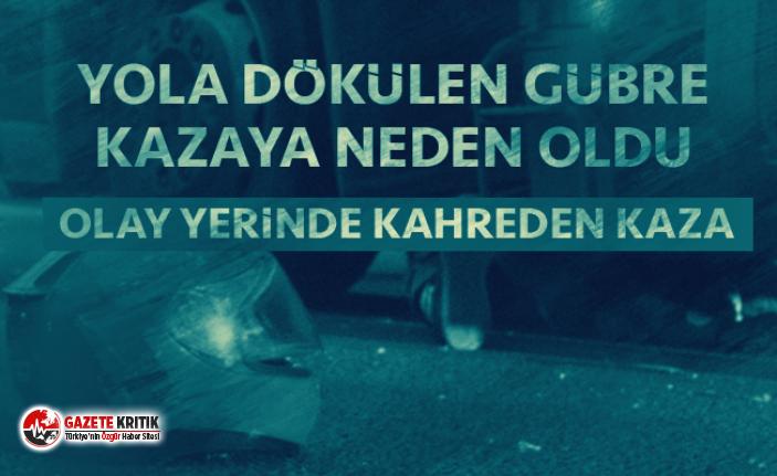 Körfez'de feci kaza: TIR altına aldı metrelerce sürükledi