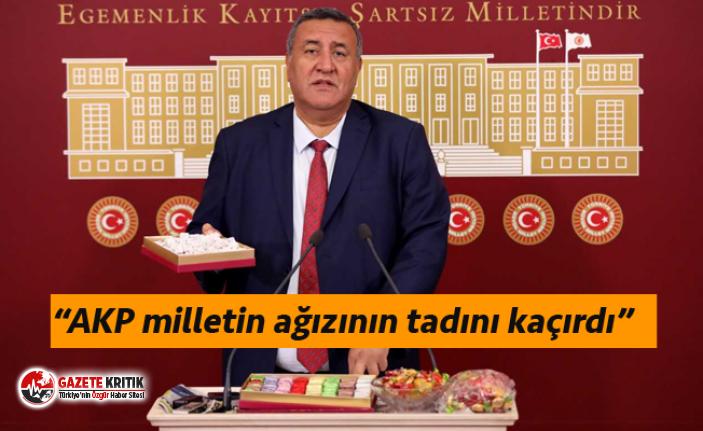 MECLİSTE LOKUM, ÇİKOLATA VE ŞEKERLİ TOPLANTI