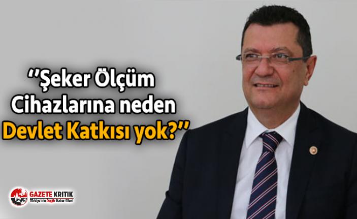 Mehmet GÖKER diyabet hastalarının yaşadığı sorunları TBMM Gündemine taşıdı…