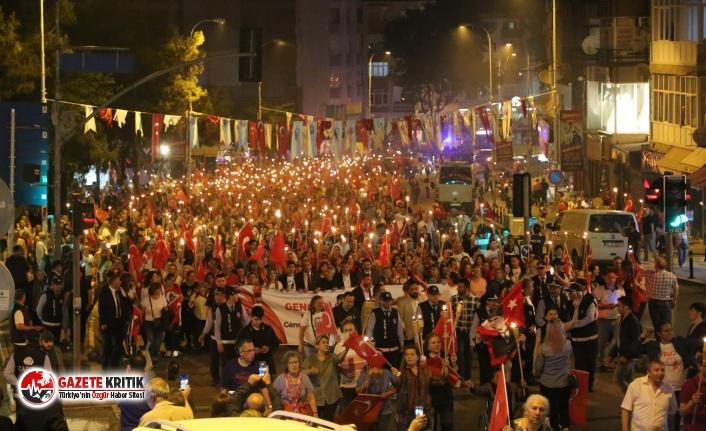 Milli mücadelenin 100. yılında Maltepe'de büyük...
