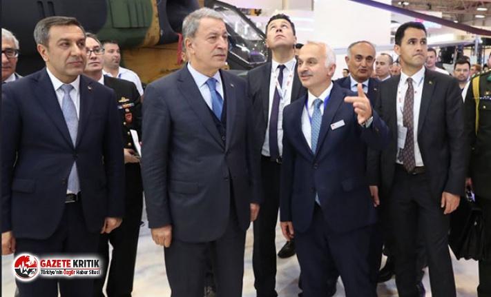 Milli Savunma Bakanı Hulusi Akar 'Uluslararası...