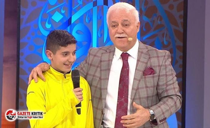 Nihat Hatipoğlu'nun 13 yaşındaki çocuğa...