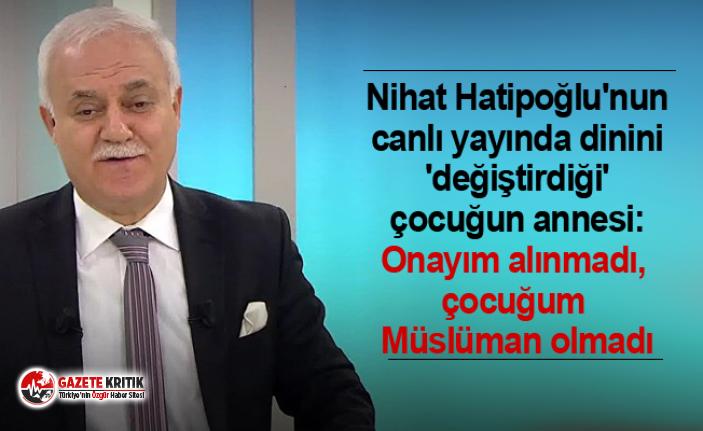 Nihat Hatipoğlu'nun canlı yayında dinini 'değiştirdiği'...