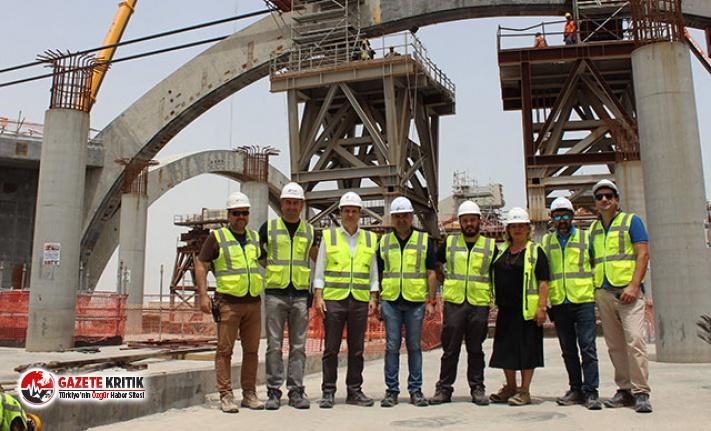 Ortadoğu'nun önde gelen projesinde Türk çalışan...