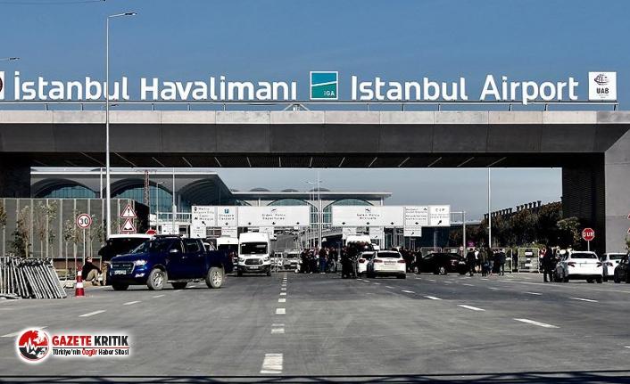 Personel uyardı: İstanbul Havalimanı'nda yangın...