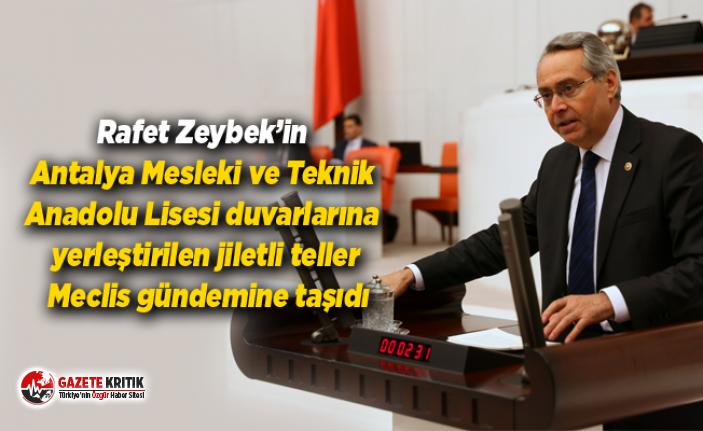 Rafet Zeybek'in Antalya Mesleki ve Teknik Anadolu...