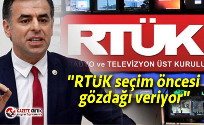 """""""RTÜK seçim öncesi gözdağı veriyor"""""""