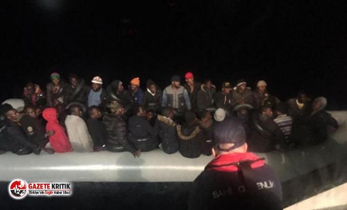 Seferihisar ve Selçuk'ta 78 kaçak göçmen yakalandı